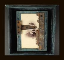 Mixed  Media Assemblage 330 by GregPDX