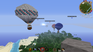 Hot Air Balloons by Octyl