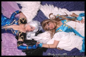 Urd And Belldandy by Ivycosplay