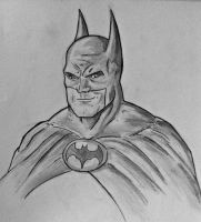 Batman quick sketch. by zclark