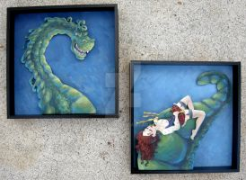 Nessie and Nelly by seystudios