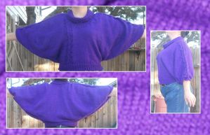 Purple Sweater by Glori305