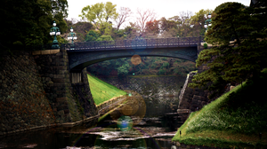 Tokyo Imperial Palace Bridge by Starshadowx2