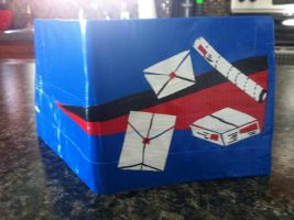 Courier Driver Wallet by everythingerika