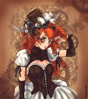 Lola steampunk by dokinana