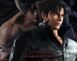 JIN KAZAMA_The Dark Side of Captivity by Trix92