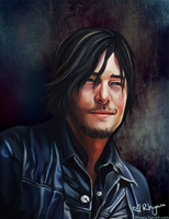 Daryl Dixon Smile by Rhyara