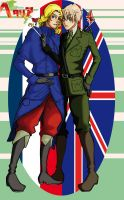 APH - France and England by kittynaX3