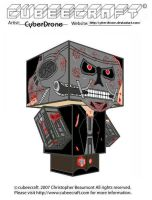 Cubeecraft - Terminator by CyberDrone