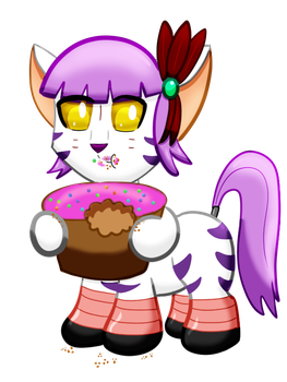 Chibi Lavender by Orcbrother by bubblesishot46853