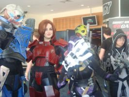 Mass Effect Cosplay by XxBlackpantherxX