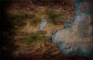 Map of Mauren by Jutchy