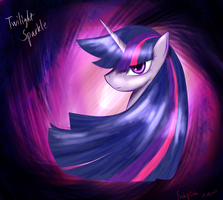 Twilight sparkle Portrait by FushigiOoka