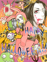 HAPPY HALLOWEEN by Amedama