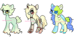 OPEN - Random+horror themed ponies by Carnivvorous
