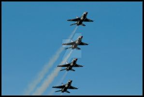 Nellis Thunderbirds IV by AirshowDave