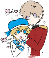 OTP: Sealand and Latvia by Queen-Spade