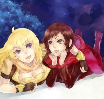Ruby and Yang by THITAart