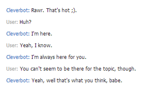 A reason to hate cleverbot by ShadowXveronica
