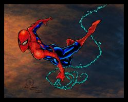 Spidey Swinging Colors by likwidlead