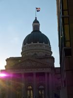Indiana State Capitol Building 2 by sakaphotogrfx