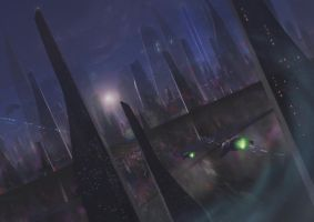 Spaceport by g8crasherboy