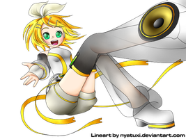 Rin Kagamine Append by Snow-Songstress