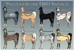 Precious Stone NSH Imports - Updated by iluvwrath