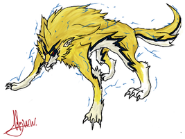 Dhedewolf by RyuaChan