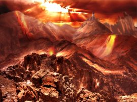 Hell Matte Painting by MyBurningEyes