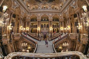 *The Palais Garnier* by erhansasmaz