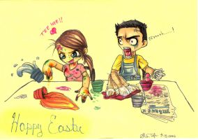 Happy Easter...? by narcissusblossom