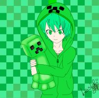 Creeper Girl by Mayle-Namiki