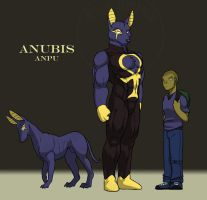 Last Ennead: Anubis Sheet by RickGriffin