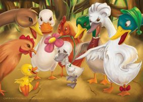 The Ugly Duckling 3 by RosieVangelova