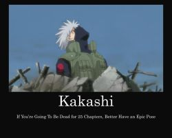 Kakashi Motivational Death by jaxkion