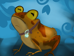 Day 85. All Glory to the Hypnotoad! by AClockworkKitten