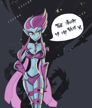 Evelynn by inkinesss