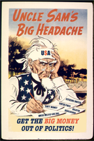 Uncle Sam's Headache by poasterchild