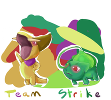 Team Strike Away! by oranlarvitar