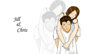 Jill and Chris by BitchPantsMcCrabby