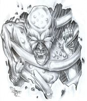 Ugly Horror Shape TattooDesign by 2Face-Tattoo