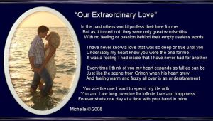 Our Extraordinary Love by VisualPoetress