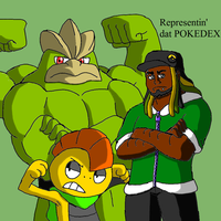 TBFP: Woolie with his Scrafty and Machamp by Brian12