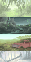 buncha backgrounds by TheRoguez