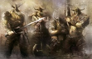 Warriors of Viking by ya-yun