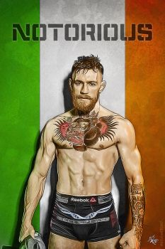 The Notorious Conor McGregor by kitster29
