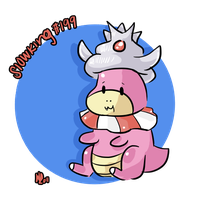 199. Slowking by MyArtMyWay