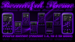 Next Launcher 3D Theme Beautiful PURPLE by ArtsCreativeGroup