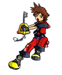 Kingdom Hearts 3D - Chibi Sora by macuapo89